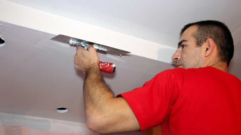 Dry Wall Repair for Painting after Wallpaper Removal